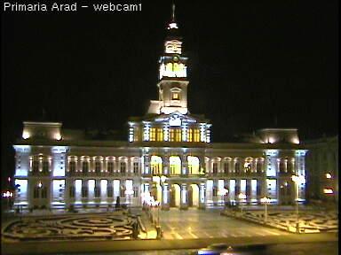 Уеб Камера Площад, Кметството на град Арад , Румъния , Арад, Румъния