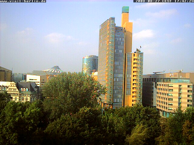Уеб Камера Камера от Берлин, Potsdamer Platz , Берлин, Германия