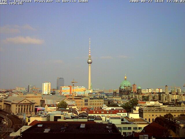Уеб Камера Изглед към центъра на Берлин 2  , Берлин, Германия