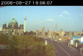 Уеб Камера Изглед към Берлин  , Берлин, Германия