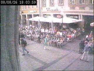 Уеб Камера Площад Marienplatz 3 , Мюнхен, Германия
