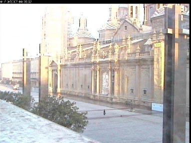 Уеб Камера Площад del Pilar, Сарагоса , Сарагоса, Испания