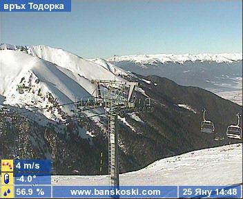 Уеб Камера Банско, връх Тодорка , Банско, България