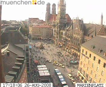 Уеб Камера Площад Marienplatz , Мюнхен, Германия